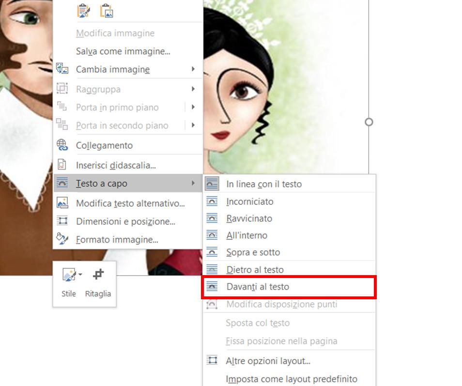 Come inserire un'immagine in Word senza rovinare l'impaginazione
