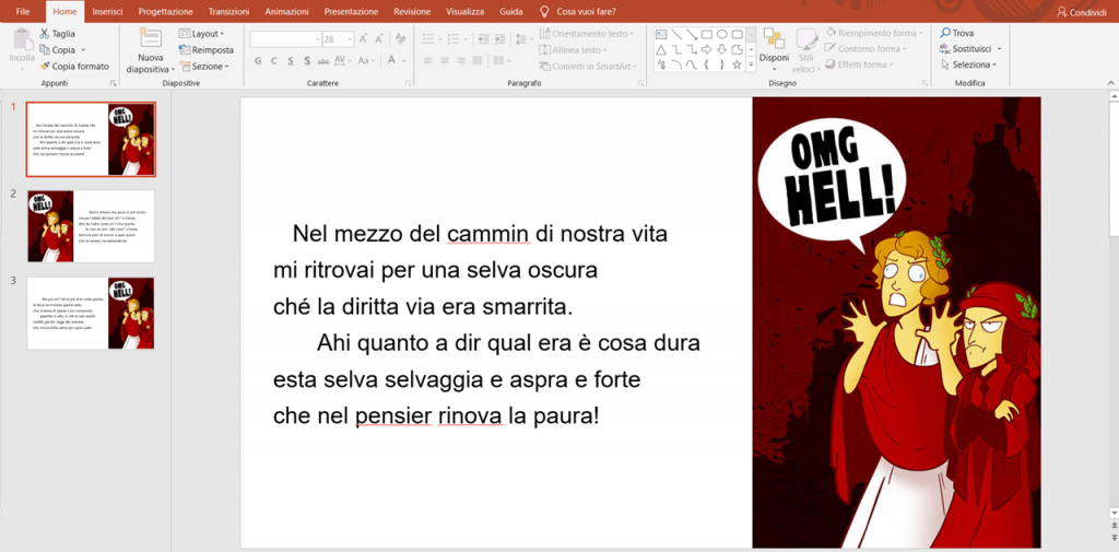 Come si collegano le slide in Powerpoint